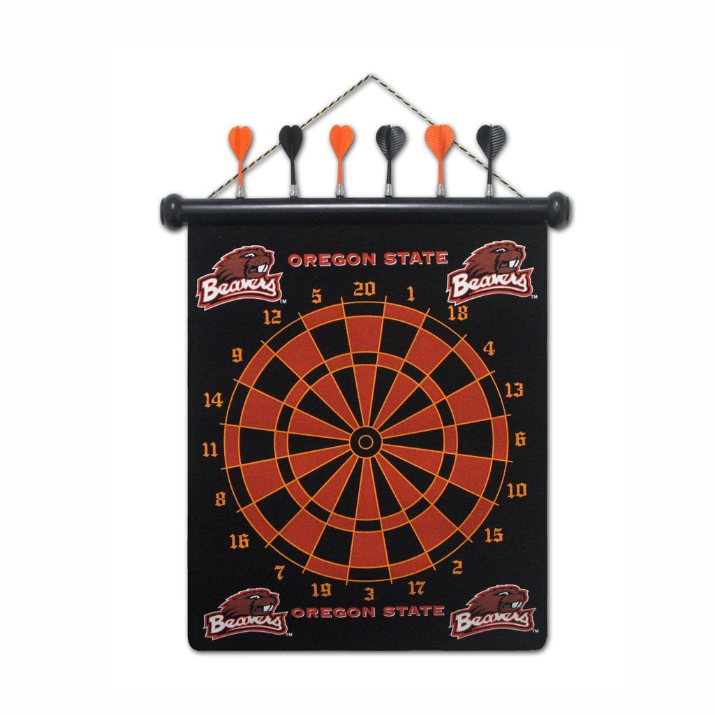 Oregon State Beavers Magnetic Dart Board