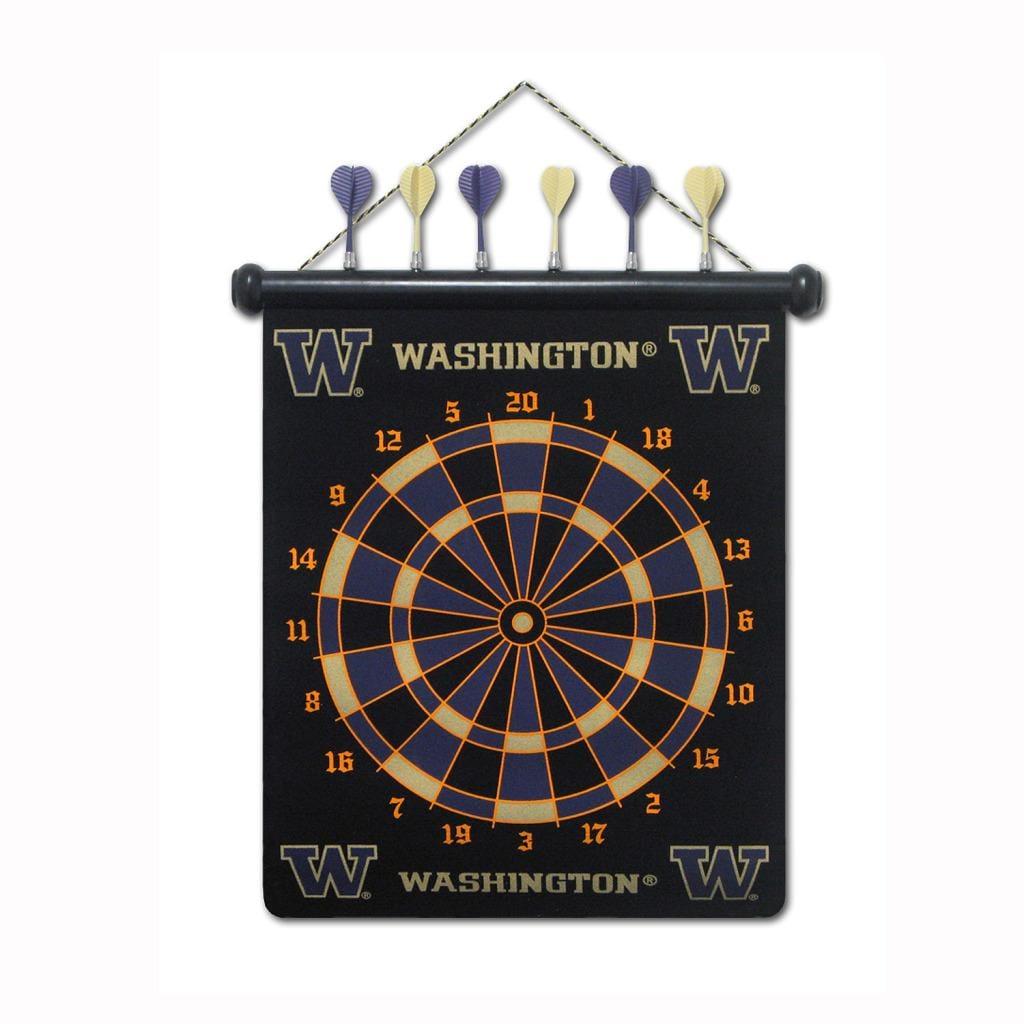 Washington Huskies Magnetic Dart Board