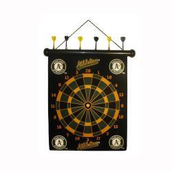 Oakland Athletics Magnetic Dart Board - Thumbnail 1