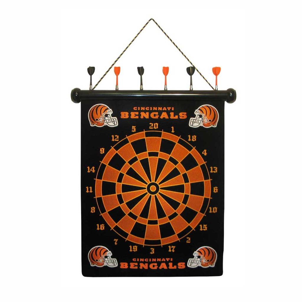 Cincinnati Bengals Magnetic Dart Board Free Shipping On