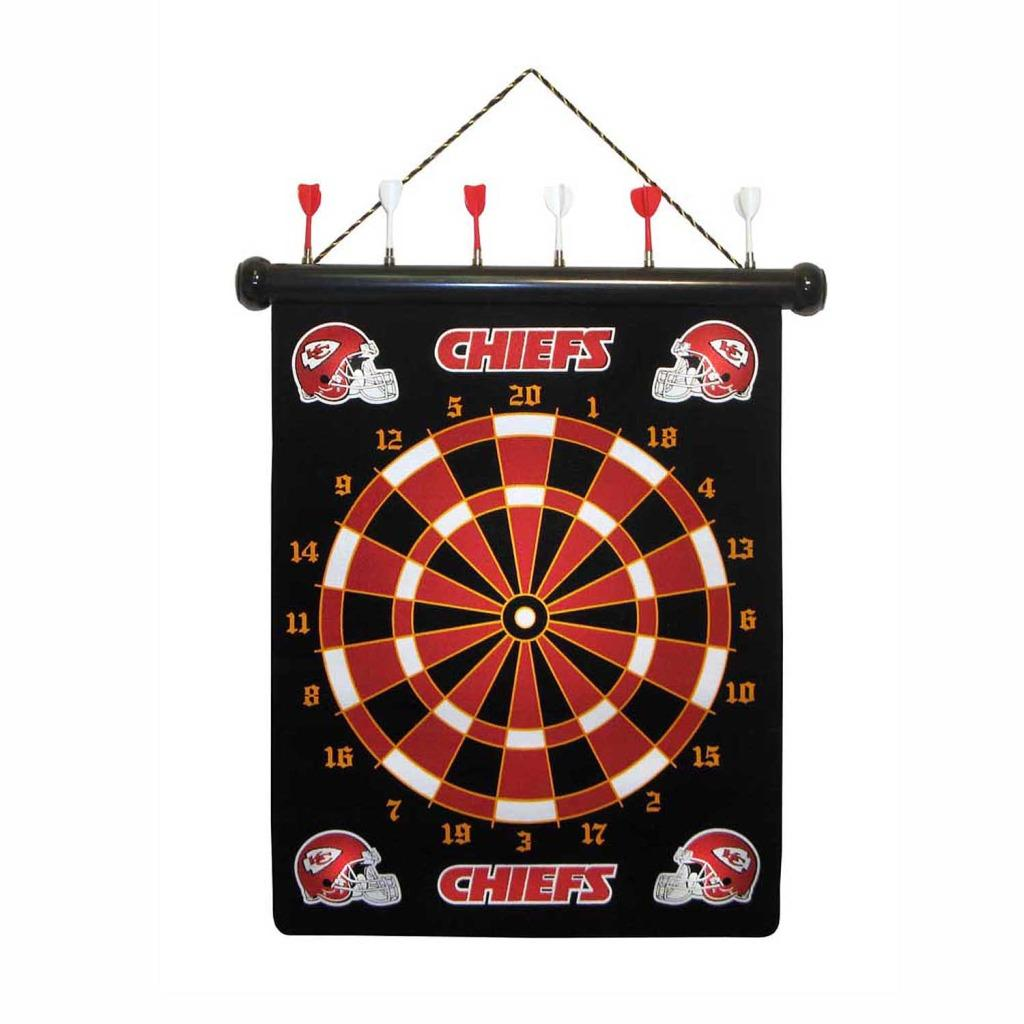 Kansas City Chiefs Magnetic Dart Board