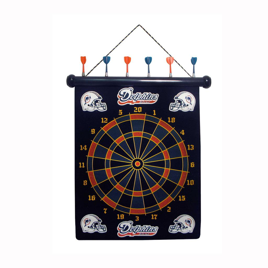 Miami Dolphins Magnetic Dart Board