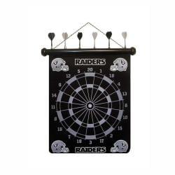 Oakland Raiders Magnetic Dart Board