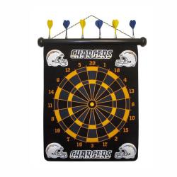 San Diego Chargers Magnetic Dart Board