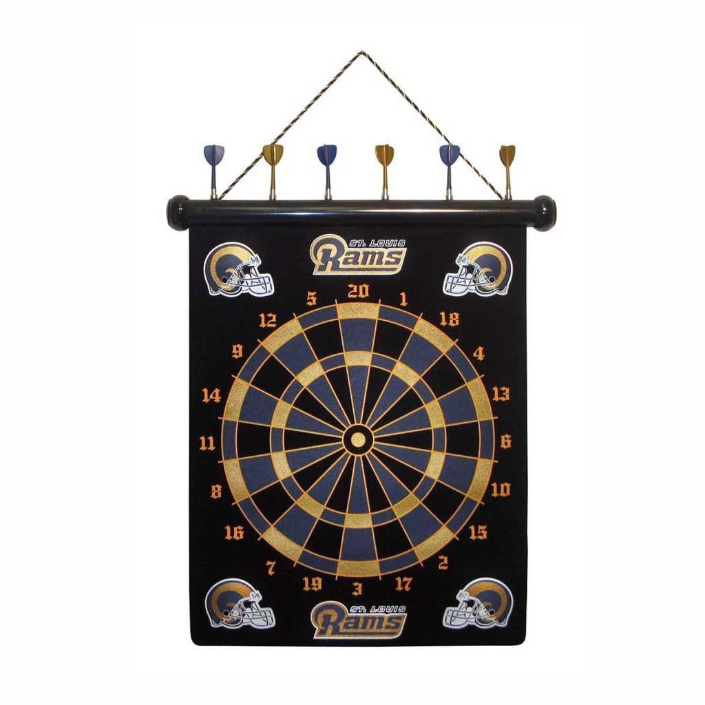 St. Louis Rams Magnetic Dart Board