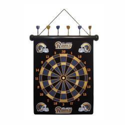 St. Louis Rams Magnetic Dart Board - Thumbnail 0