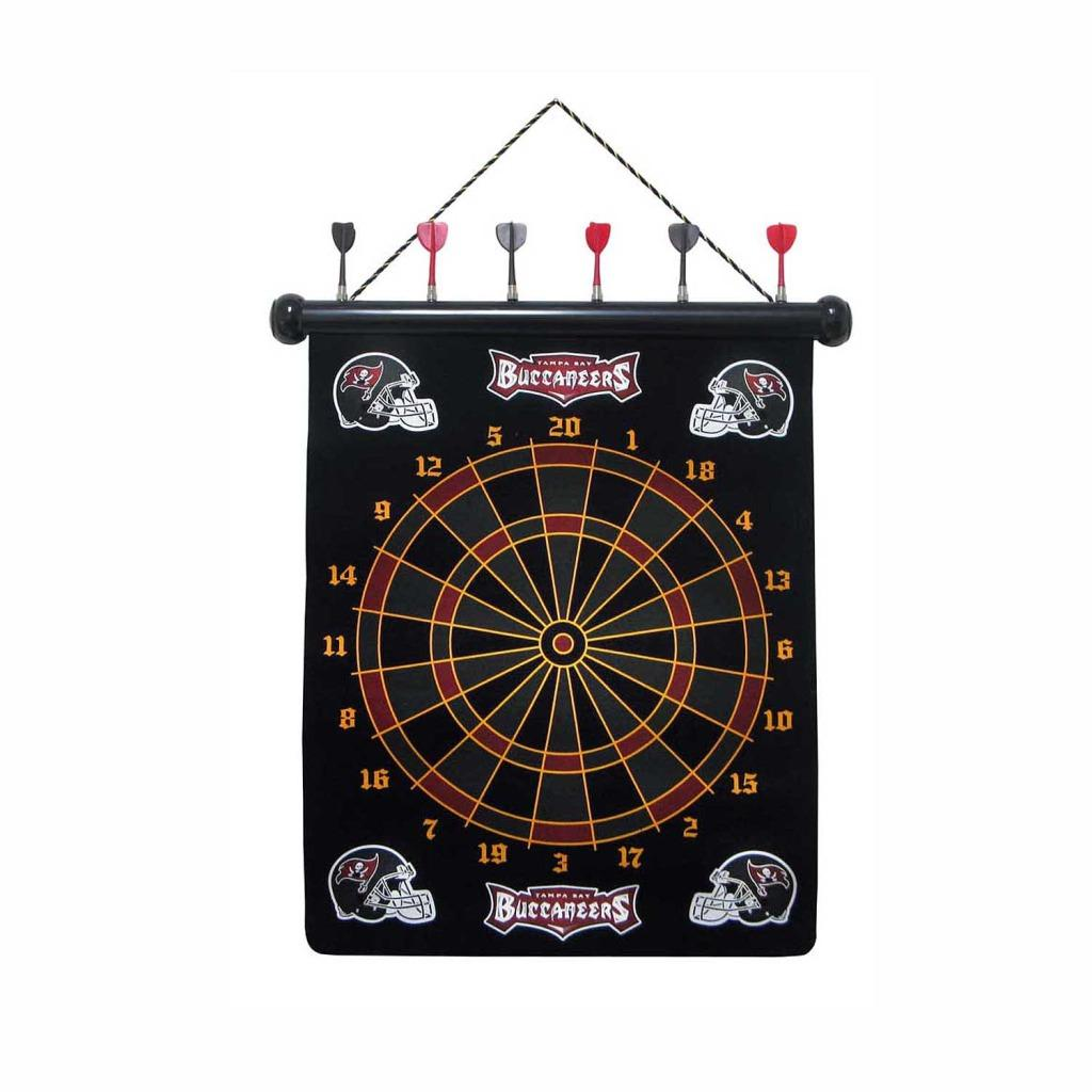 Tampa Bay Buccaneers Magnetic Dart Board