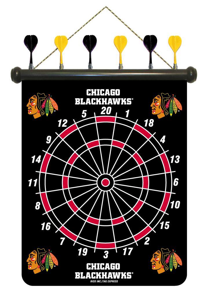 Chicago Blackhawks Magnetic Dart Board