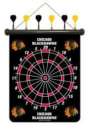 Chicago Blackhawks Magnetic Dart Board - Thumbnail 1