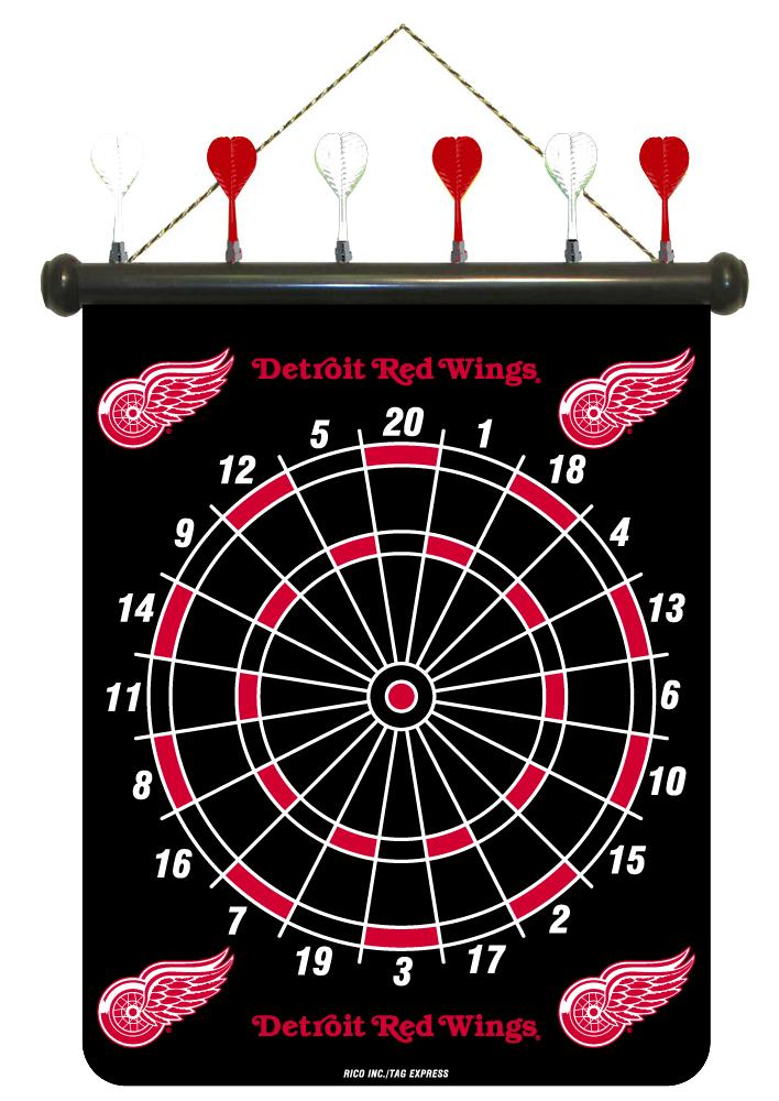 Detroit Red Wings Magnetic Dart Board - Thumbnail 0