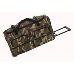 Rockland Unisex 30-inch Lightweight Roomy Rolling Upright Duffel Bag - Thumbnail 1