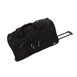 Rockland Unisex 30-inch Lightweight Roomy Rolling Upright Duffel Bag