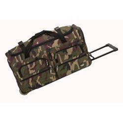 Rockland 36-inch Lightweight Rolling Upright Duffel Bag - Thumbnail 1