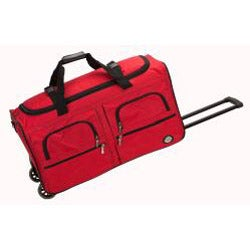 Rockland 36-inch Lightweight Rolling Upright Duffel Bag - Thumbnail 2