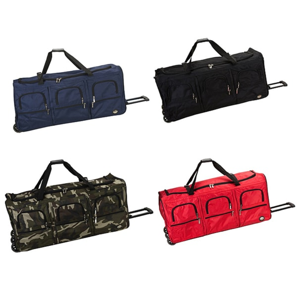 bf095abe0d Shop Rockland 40-inch Lightweight Rolling Upright Duffel Bag - Free ...
