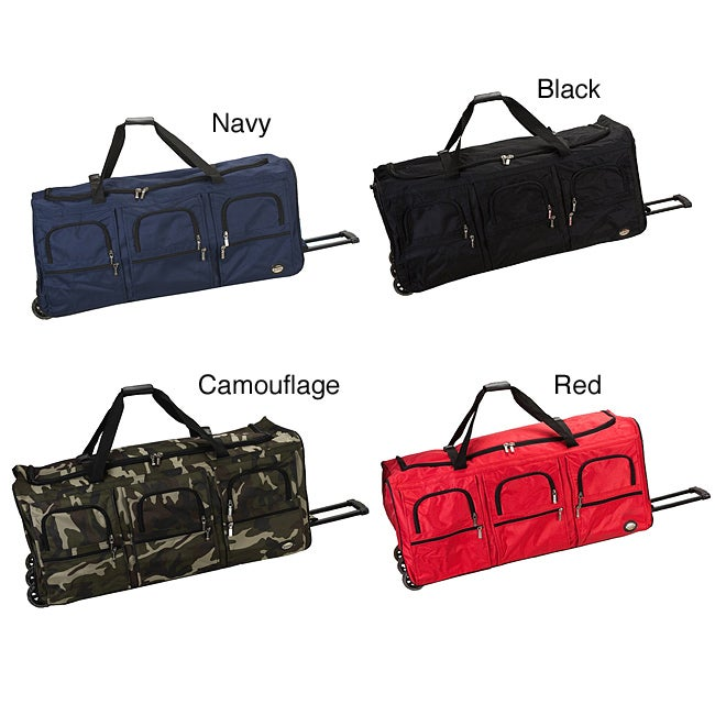 Rockland 40-inch Lightweight Rolling Upright Duffel Bag