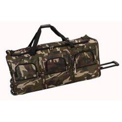 Rockland 40-inch Lightweight Rolling Upright Duffel Bag - Thumbnail 1