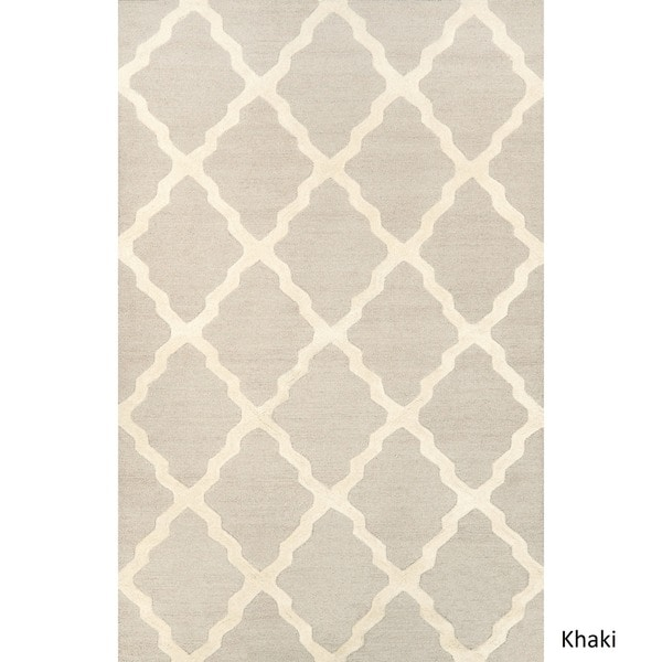 NuLOOM Hand Hooked Alexa Moroccan Trellis Wool Rug (7u00276 X 9u00276)   Free  Shipping Today   Overstock.com   13502846