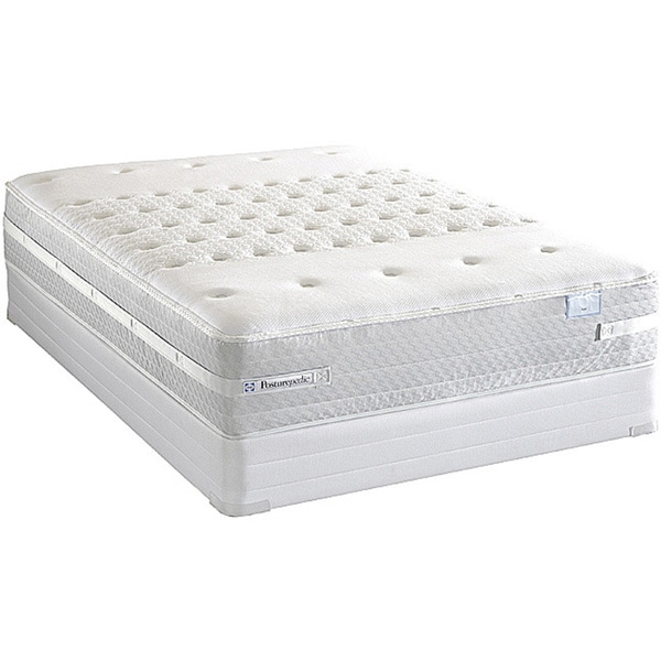 Sealy Posturepedic Forestwood Plush Queen-size Mattress Set