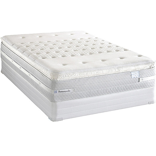 Sealy Posturepedic Forestwood Plush Euro Pillowtop Twin-size Mattress Set
