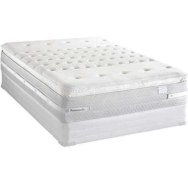 Shop Sealy Posturepedic Forestwood Plush Euro Pillow Top King Size