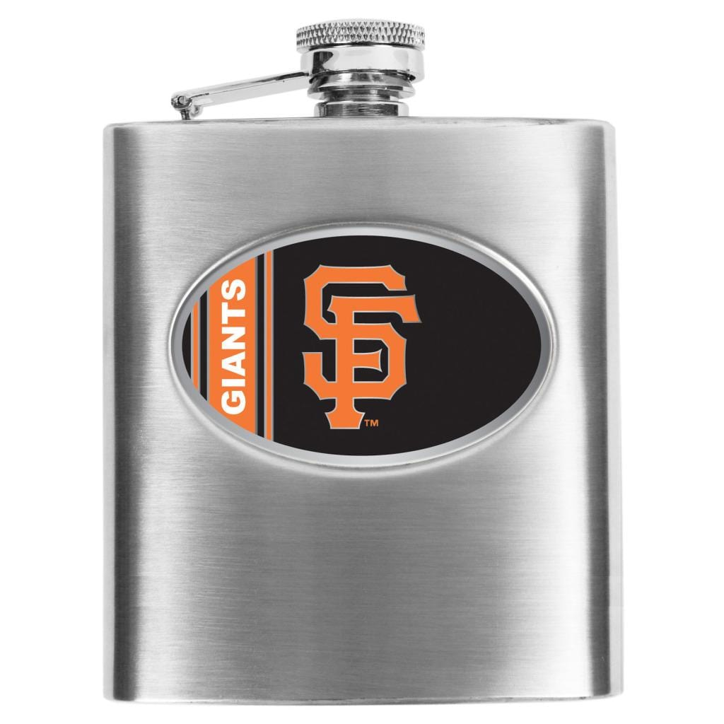 Simran San Francisco Giants 8-oz Stainless Steel Hip Flask