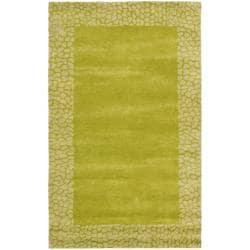 Safavieh Handmade Soho Green New Zealand Wool Rug (5' x 8')
