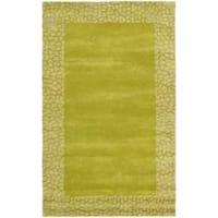 Safavieh Handmade Soho Green New Zealand Wool Rug - 5' x 8'