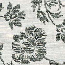 Safavieh Handmade Soho Grey New Zealand Wool Rug (3'6 x 5'6') - Thumbnail 2