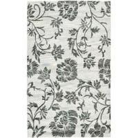 Safavieh Handmade Soho Grey New Zealand Wool Rug - 3'6 x 5'6