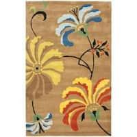 Shop Safavieh Handmade Jardin Ivory Multi Floral Wool Rug
