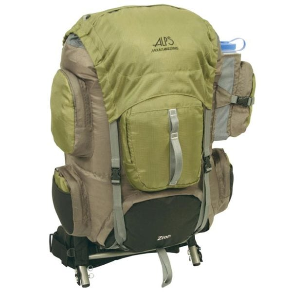 ALPS Mountaineering Zion Olive 3900 External Pack