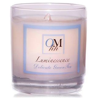 OMHH Luminessence Delicate Greentea 9-oz Body Satin Glow Soy Candle