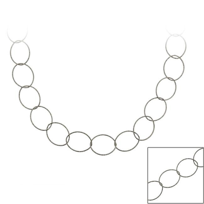 Silver Necklace Chain SKU: 601030-20 Sterling Silver Necklace Chunky Silver Necklace Huge Rolo Chain Necklace 20 inches Chunky Chain