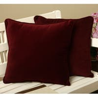 Cotton Velvet Decorative Pillows (Set of 2)