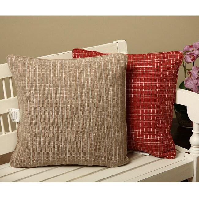 Tweed Decorative Pillows (Set of 2)