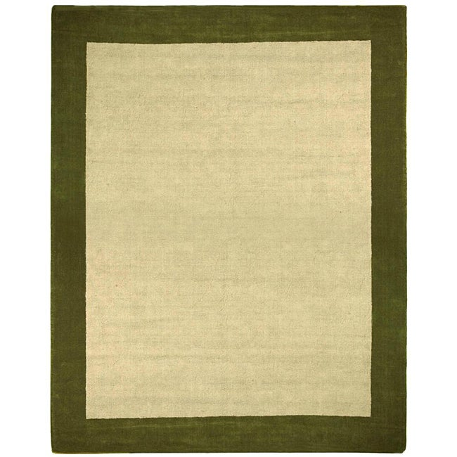 Hand-tufted Madelia Natural Rug (8' x 10')