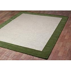 Hand-tufted Madelia Natural Rug (8' x 10') - Thumbnail 1