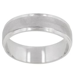 Kate Bissett Silvertone Brushed and Polished Fashion Band