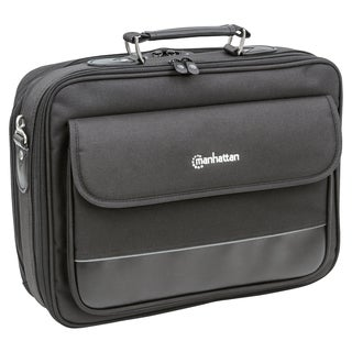"Manhattan Empire II 15.6"" Laptop Briefcase, Black"