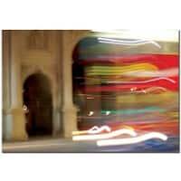 Nicole Dietz 'London Blur' Canvas Art