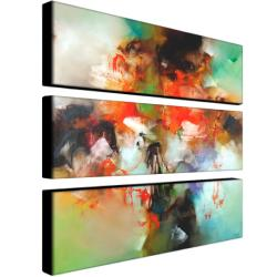 Zavaleta 'Abstract II' 3-piece Art Set