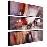 Rio 'Cube Abstract II' 3-piece Art Set