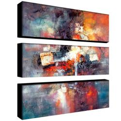 Rio 'Cube Abstract III' 3-piece Art Set