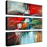 Rio 'Cube Abstract IV' 3-piece Art Set