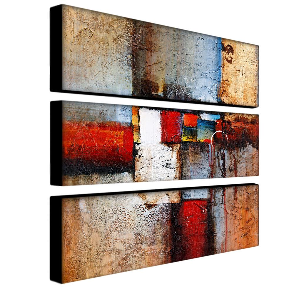 Rio 'Cube Abstract VI' 3-piece Art Set