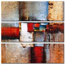 Rio 'Cube Abstract VI' 3-piece Art Set - Thumbnail 1
