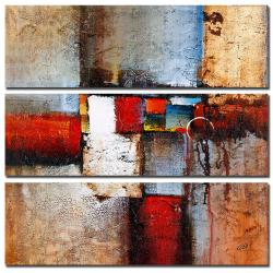 Rio 'Cube Abstract VI' 3-piece Art Set - Thumbnail 2