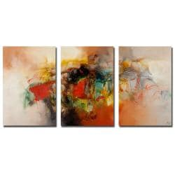 Zavaleta 'Abstract VI' 3-piece Art Set - Thumbnail 2