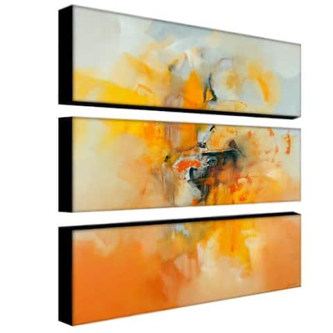 Zavaleta 'Abstract IV' 3-piece Art Set